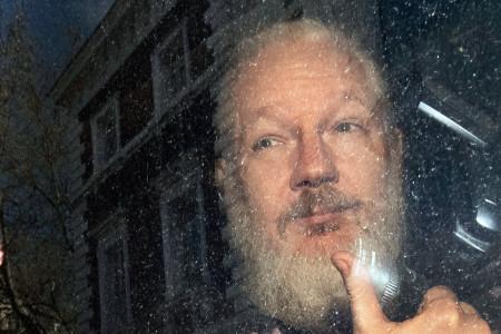 Wikileaks Assange Arrested, London, United Kingdom - 11 Apr 2019